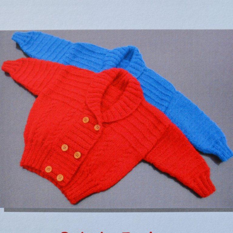 16f3954c8398 Baby s Jacket - AU9701 - Australian Alpaca Yarn
