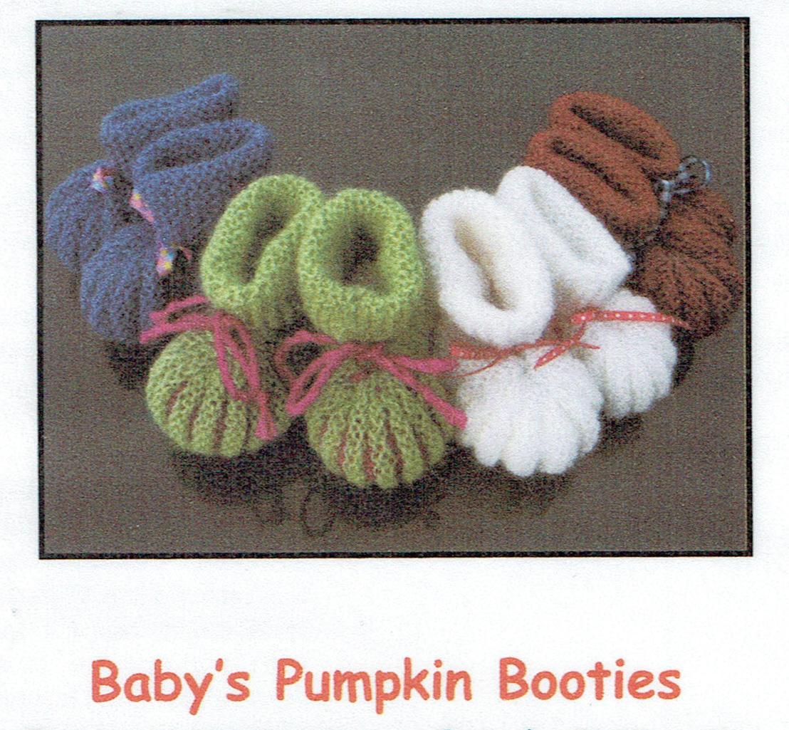 Baby S Pumpkin Booties Au0806 Australian Alpaca Yarn