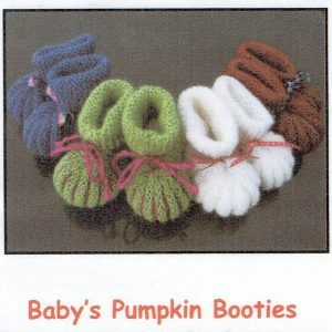 Pumpkin Booties